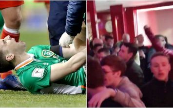 VIDEO: Liverpool fans' chant mocking Seamus Coleman injury is in absolutely awful taste