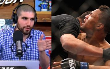 UFC star immediately gets confrontational with Ariel Helwani after being brought on to promote fight