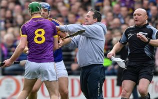 Revisiting Davy Fitzgerald's pitch invasion and heated altercation with Tipperary players