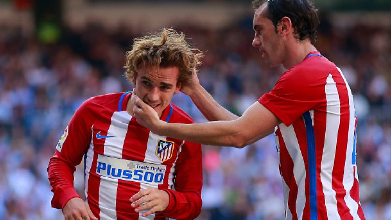 Antoine Griezmann brings fan to tears, thoroughly pissing off her dad in  the process