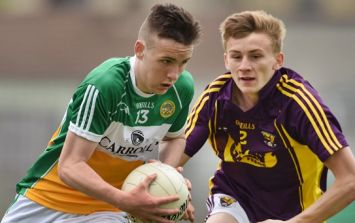Offaly hotshot runs bloody riot kicking 2-6 from play and giving hope to the county