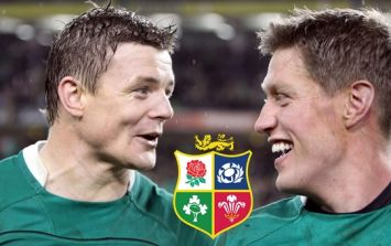 Brian O'Driscoll and Ronan O'Gara couldn't get over one poor fan's Lions picks