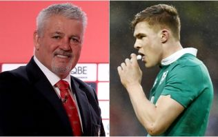 Warren Gatland reveals how close Garry Ringrose was to making the Lions squad