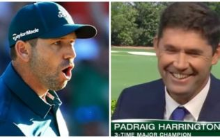 WATCH: Padraig Harrington's refusal to be thrilled for Sergio Garcia is just another reason to love him