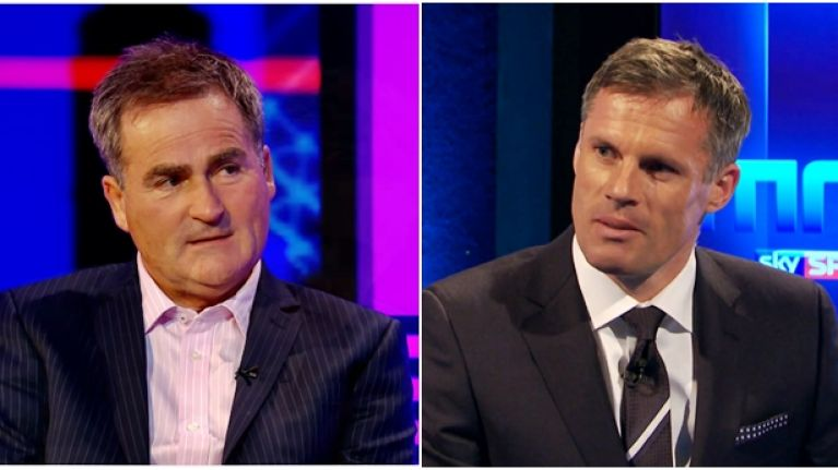Richard Keys must regret trying to get the better of Jamie Carragher on Twitter