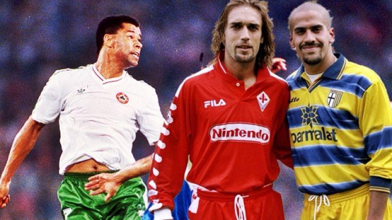 8a30c26b317 The 20 greatest football jerseys of the 1990s | SportsJOE.ie
