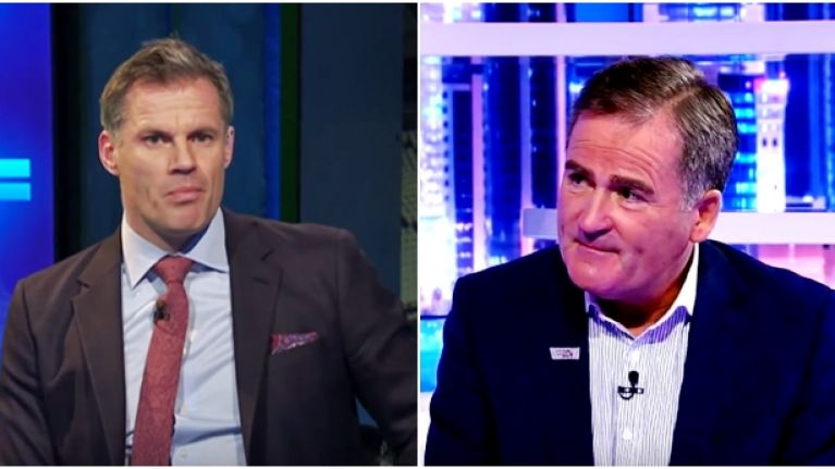 Richard Keys hits back at Jamie Carragher with some really sneaky digs