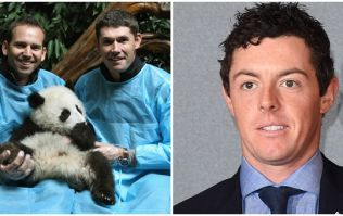 Padraig Harrington and Sergio Garcia settle it once and for all at Rory McIlroy's wedding