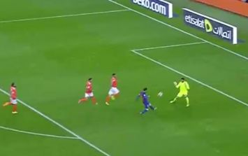 WATCH: Lionel Messi scores the sort of one-on-one that only Lionel Messi could score