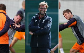 Steven Gerrard and Jamie Carragher will play for Jurgen Klopp next month