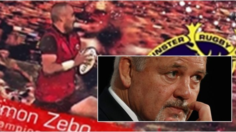 Munster send Warren Gatland a rousing reminder of what he is missing