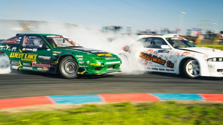 13-year-old wonderkid sets his sights on winning this weekend's Irish Drift Championship