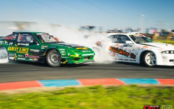 13-year-old wonderkid sets his sights on winning this weekend's Irish Drift Championship