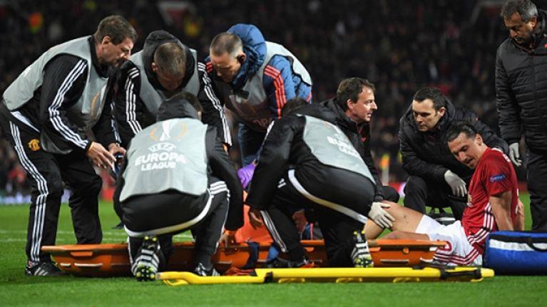 Zlatan Ibrahimovic's injury looks very nasty