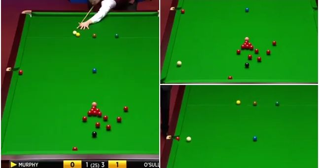 This snooker shot will surely be the best you'll see at this year's World Championship