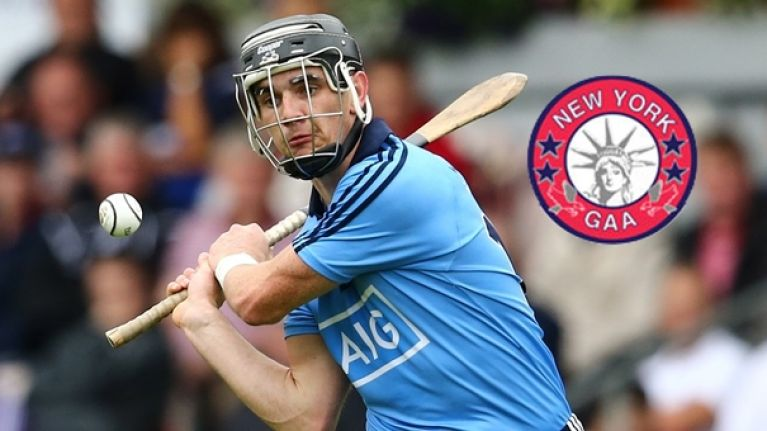 New York manager raving about Dublin hurler set to face Sligo footballers