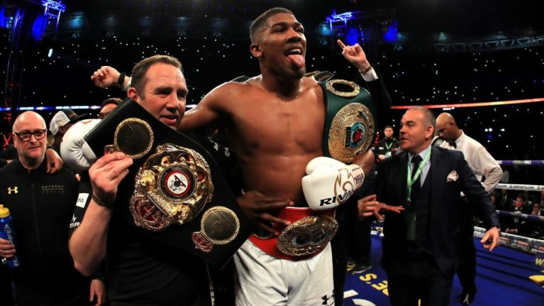Anthony Joshua almost 'came to blows' with Vitali Klitschko