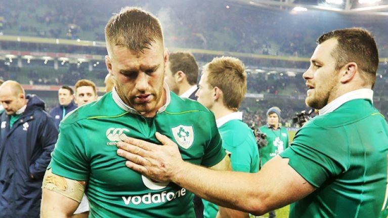 Ireland hit with rotten injury updates for Sean O'Brien, Adam Byrne and Tyler Bleyendaal