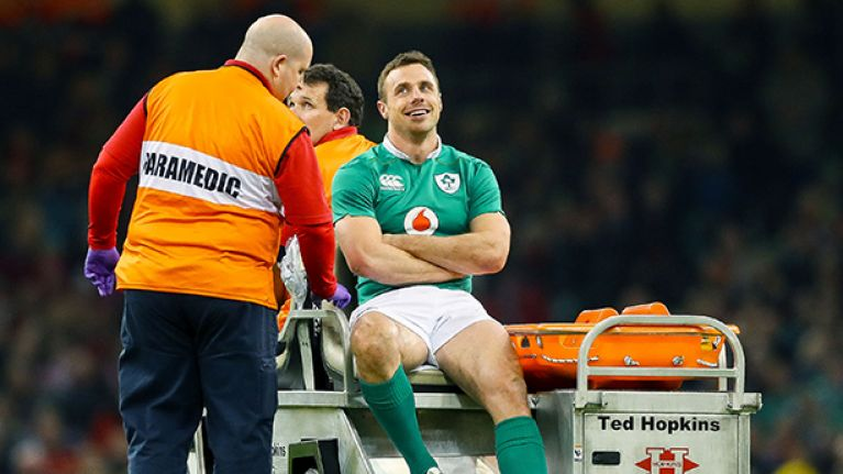 Tommy Bowe is making an interesting career change during his injury lay-off