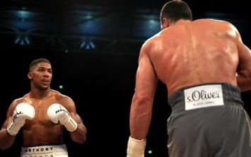 Anthony Joshua reveals that he said to Wladimir Klitschko late on in the fight