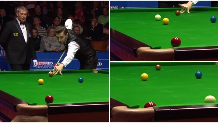 Mark Selby produced an escape to die for in the Snooker World Championship final