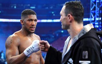 Anthony Joshua explains the tactics that saw him defeat Wladimir Klitschko
