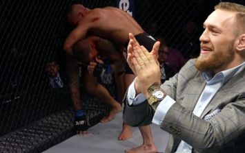 Conor McGregor's reaction to UFC 211's biggest controversy really sums up his character