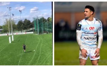 WATCH: Dan Carter's kicking drill shows why he is still the best in the world