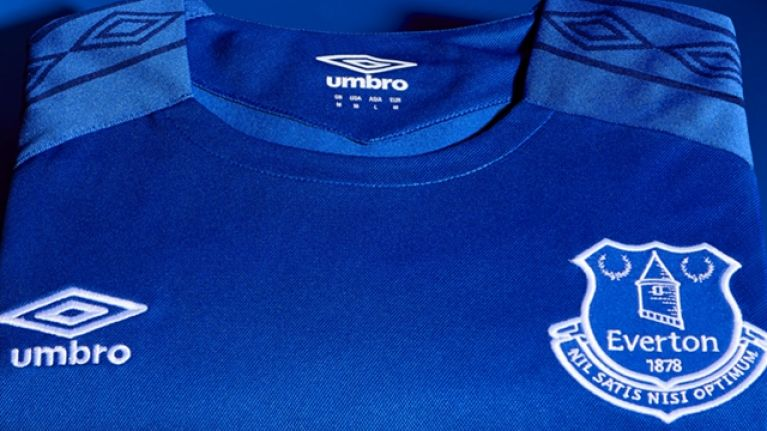 6796f5914 Everton s new kit is a classy throwback in more than one way ...