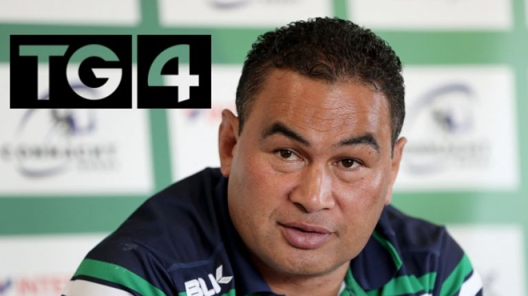 Connacht's Champions Cup play-off is live on terrestrial television