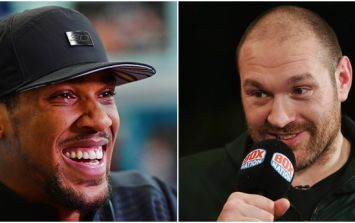 Tyson Fury swiftly deletes reaction to Anthony Joshua's call-out