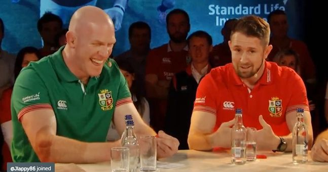 WATCH: Paul O'Connell winds up the Welsh with two classic remarks