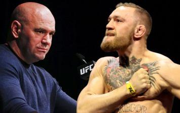 Conor McGregor definitely approves of Dana White's UFC return update