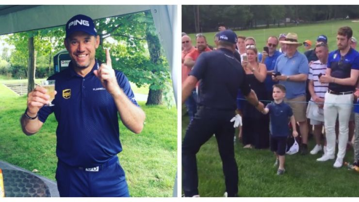 WATCH: Lee Westwood hits two hole-in-one shots and makes a child's day in the process