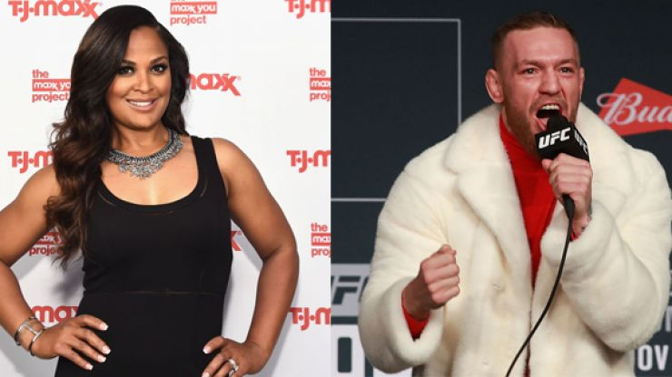 Laila Ali had a very strong reaction when asked inevitable Conor McGregor question