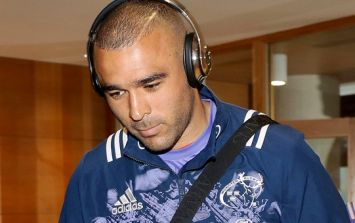 Simon Zebo speaks with grace and honesty at what must be an incredibly tough time