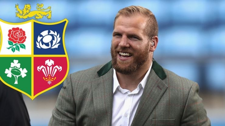 James Haskell gets his British & Irish Lions gear and there's a lovely surprise