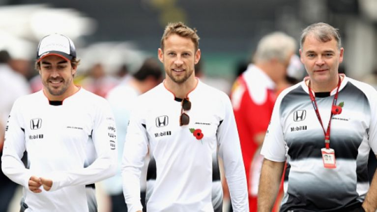 """""""I'm going to pee in your seat"""" - Jenson Button had a fun return to F1"""