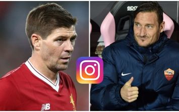 Steven Gerrard pays the best tribute of all to the legend that is Francesco Totti