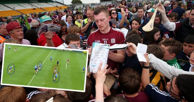 Statistics suggest Dublin were far from shambolic but outclassed by Galway's use of space