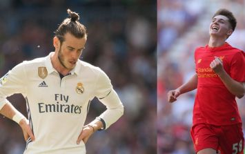 Gareth Bale has reportedly urged Real Madrid's board to go and sign Liverpool starlet