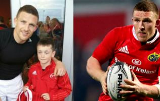 Andrew Conway gives young Munster fan greatest birthday present he could possibly ask for