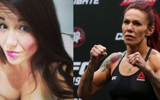UFC superstar Cris Cyborg punches fellow fighter who was constantly at her on Twitter at Athlete Retreat