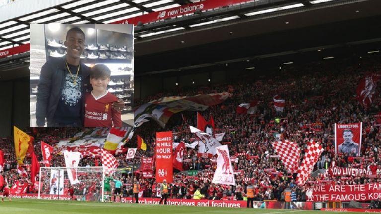 newest e314b 3fdb3 Limerick kid runs into Liverpool star in a shop, Liverpool ...