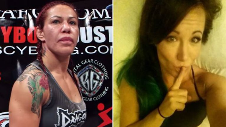 Footage of heated altercation emerges as UFC superstar Cyborg cited for battery