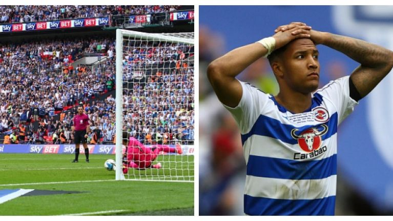 Reading player apologises for penalty miss and it is as heartbreaking as you'd expect it to be