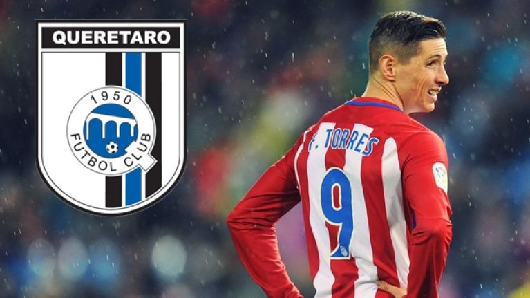 Fernando Torres is set to leave Atletico for the most unlikely of destinations