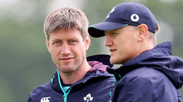"""WATCH: Ronan O'Gara says it's """"unbelievably exciting"""" to be back in Ireland camp and working with Joe Schmidt"""