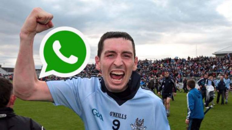 Alan McCrabbe shows how WhatsApp culture has gone too far in the GAA
