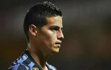Real Madrid have essentially just confirmed James Rodriguez's future